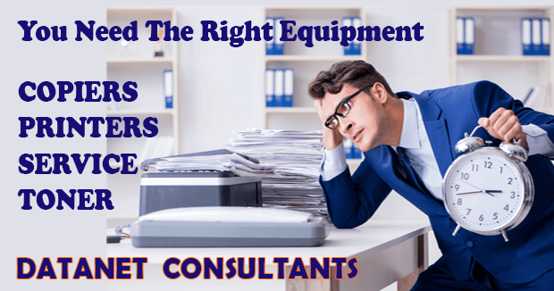 Datanet Consultants Has The Right Equipment