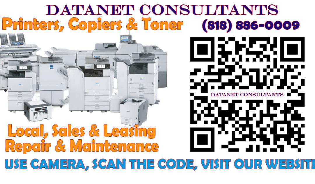 LA County Copiers & Printers, Sales & Leasing | Datanet Consultants