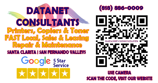 Thanks Santa Clarita and The San Fernando Valley | Datanet Consultants