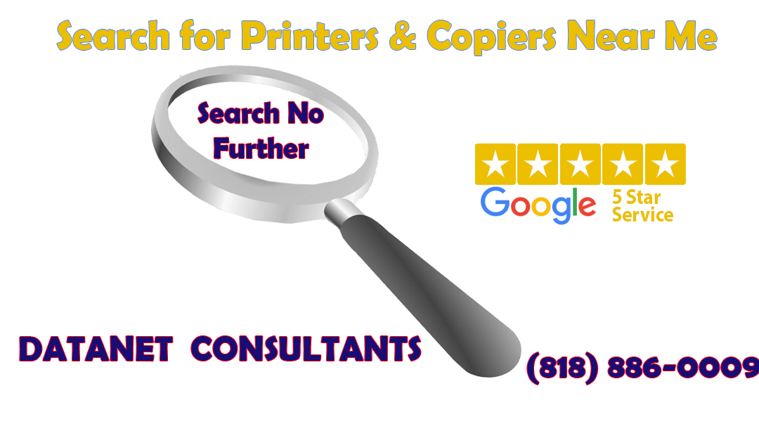 Need Printer, Copier? Need Ink, Toner? | Search For Datanet Consultants